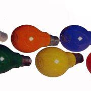 lampadine colorate casa