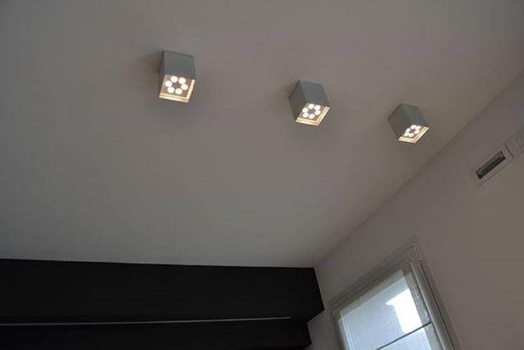 Faretti led a soffitto da interno bianchi materassi illuminazione