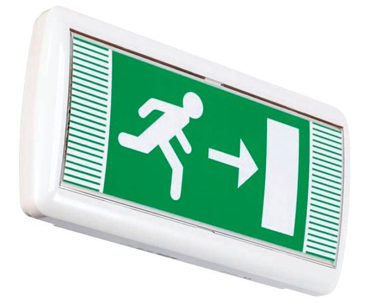Illuminazione di sicurezza LED / uscita d'emergenza