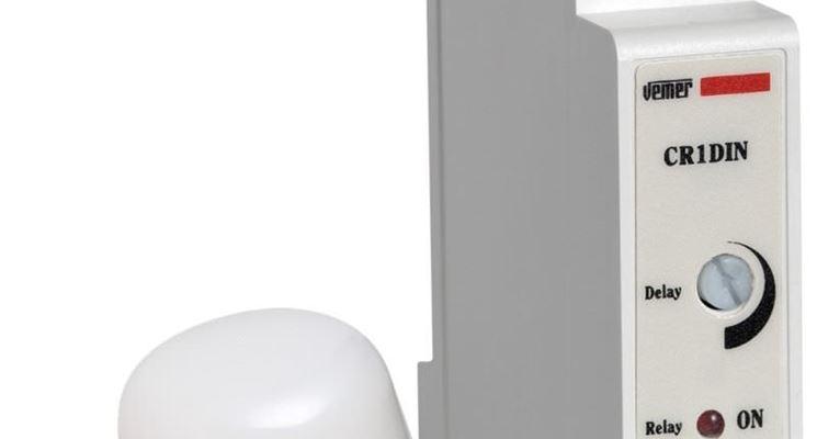 Interruttore crepuscolare modulare