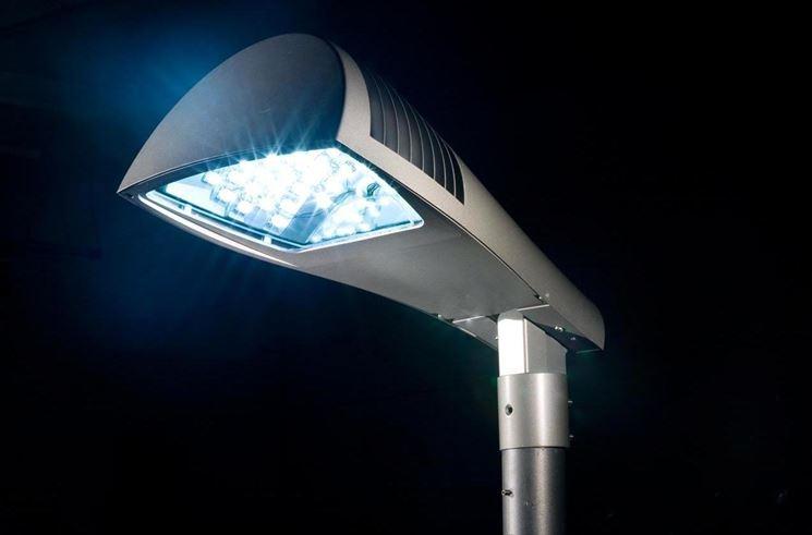Esempio di illuminazione a LED.