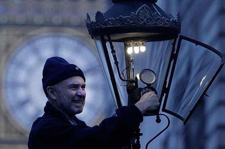 Lampada a gas a Westminster