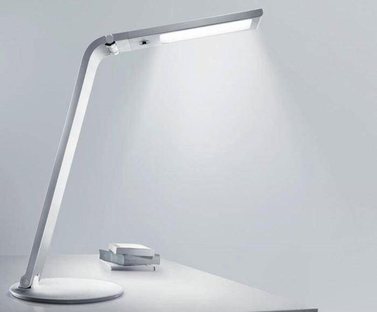 Le lampade LED ben si abbinano agli oggetti di design