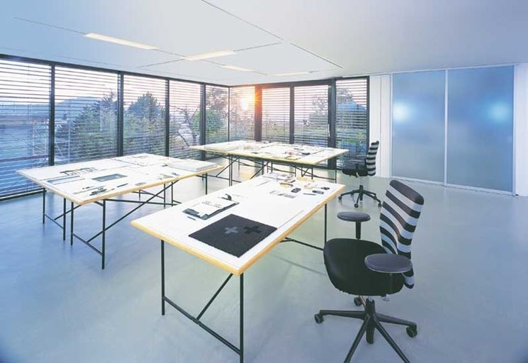 luce naturale ed artificiale ufficio