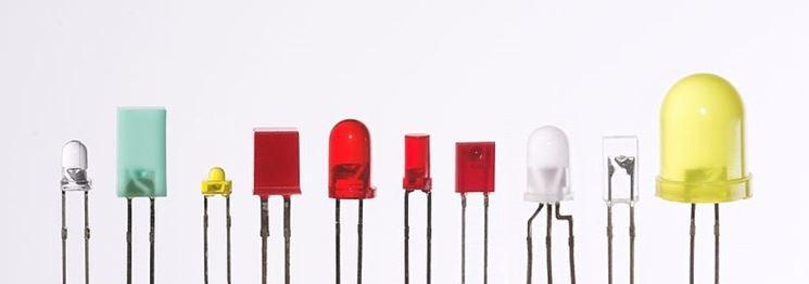Diversi tipi di LED