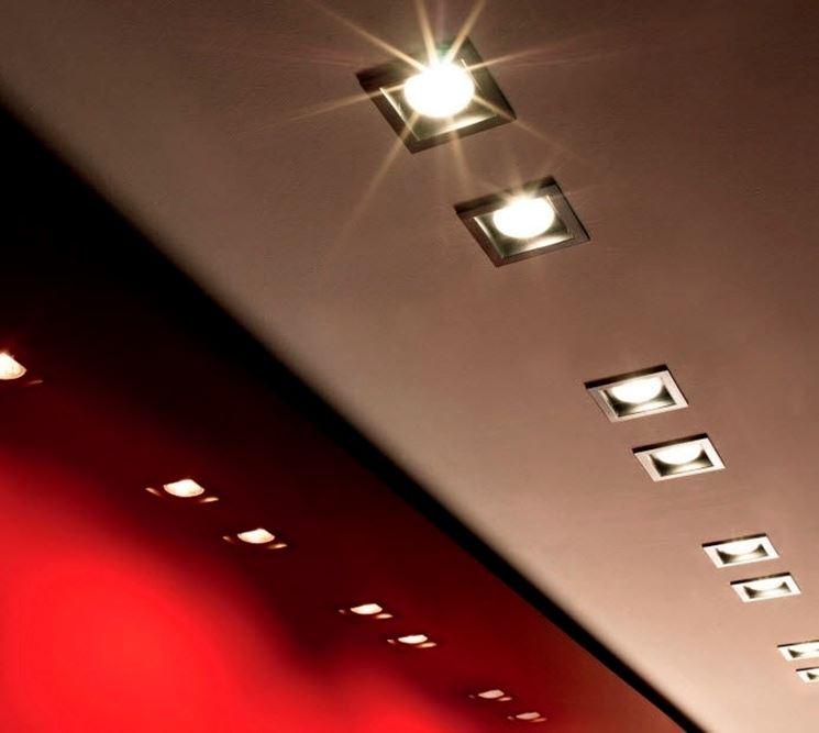 Illuminazione di interni con faretti led a incasso