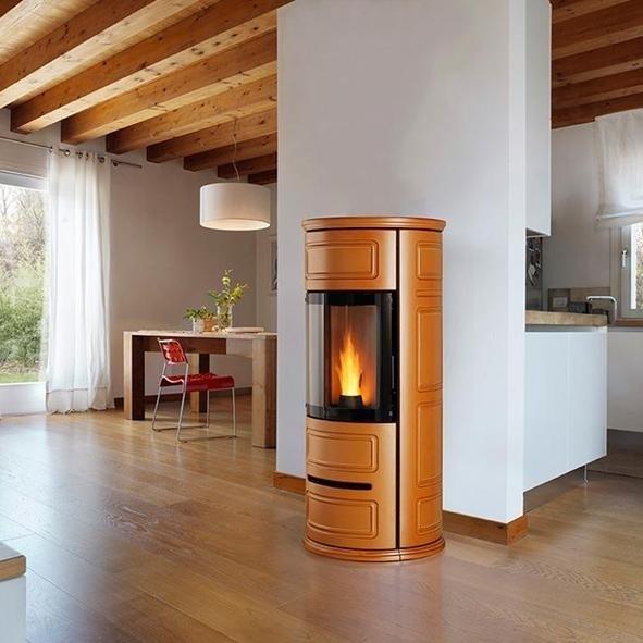 Caratteristiche delle termostufe a pellet le stufe caratteristiche termostufe pellet - Impianti stufe a pellet ...