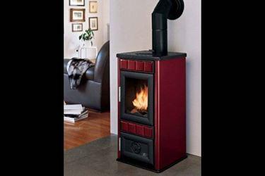 Esempio di termostufa a legna. Fonte: www.nalonsnc.it.