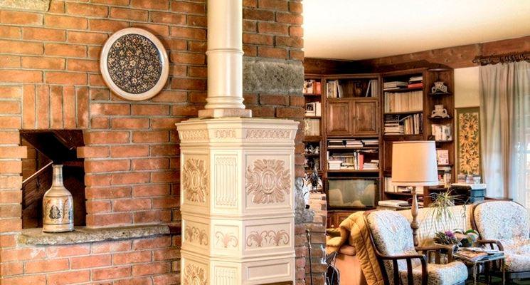 Stufa ceramica