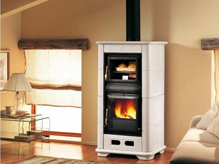 Stufe a legna con forno le stufe stufe con forno - Stufe a pellet usate ...