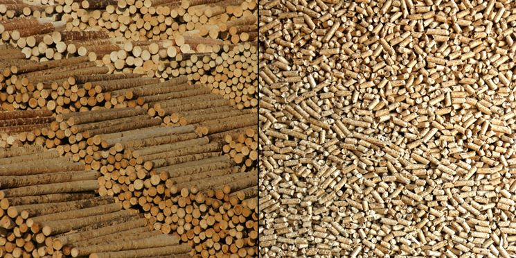 Il pellet derivante da solo legna vergine per le nostre stufe