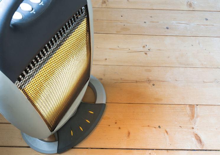 Stufa elettrica a infrarossi a basso consumo
