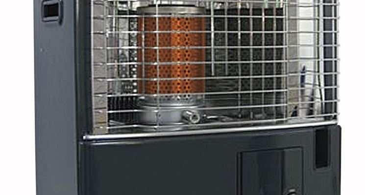 Moderna stufa a combustibile a stoppino