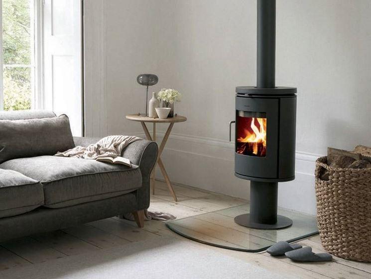 La termostufa a legna funziona in modo simile alle caldaie a gas