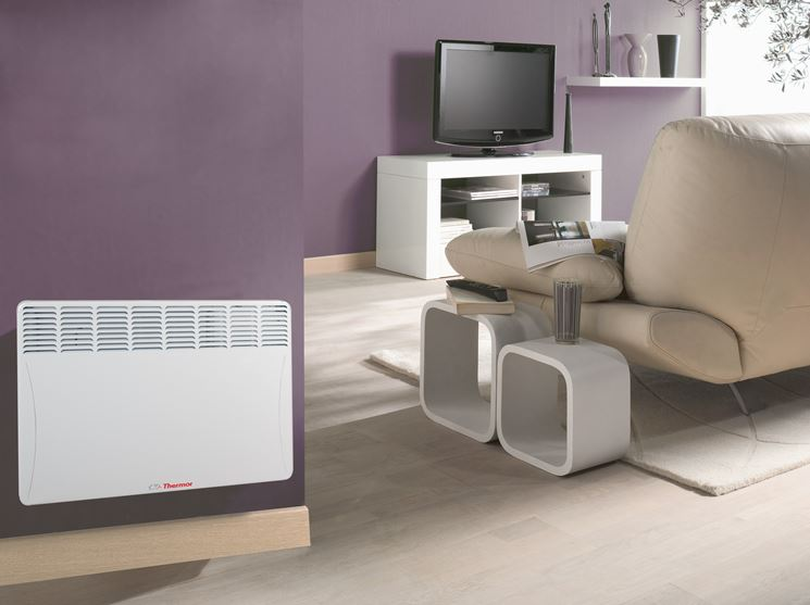 termoconvettore elettrico design moderno
