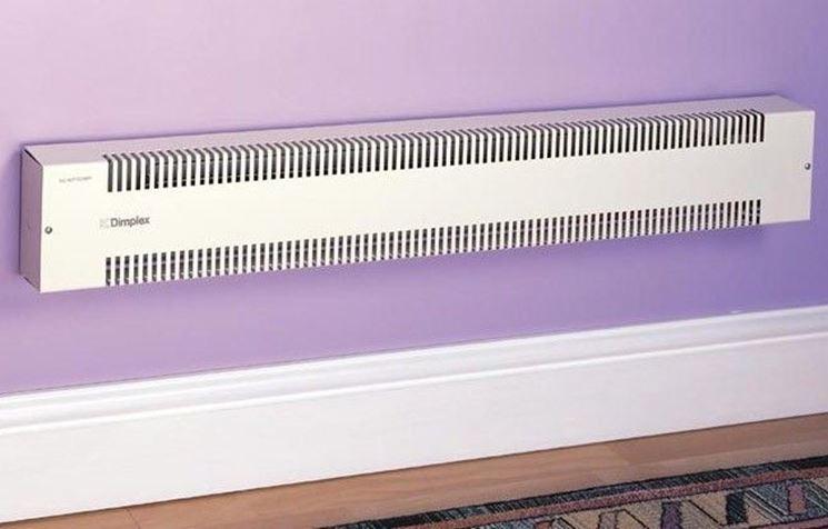 termoconvettore elettrico design essenziale