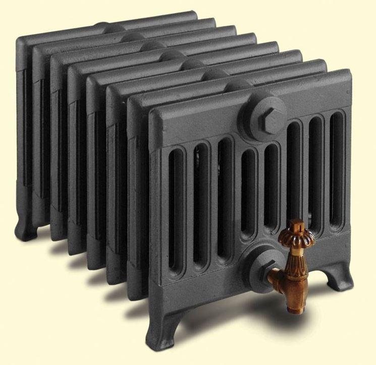 I radiatori in ghisa trattengono più a lungo il calore