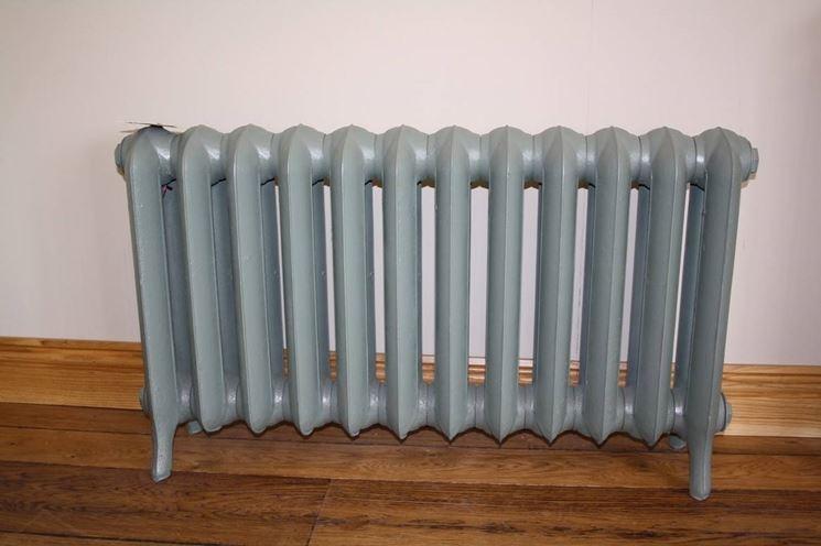 I radiatori in ghisa sono pesanti da trasportare