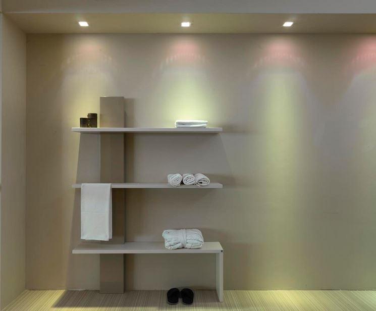 Termoarredo dal design minimalista specifico per il bagno