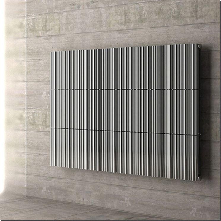 Radiatori di design termoarredi riscaldamento per la - Termosifone elettrico a parete ...