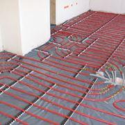 Tubi di un impianto radiante a pavimento