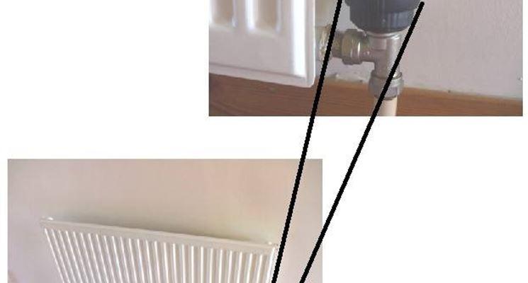 Valvola termostatica su un radiatore