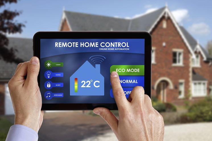Applicazione di controllo per tablet