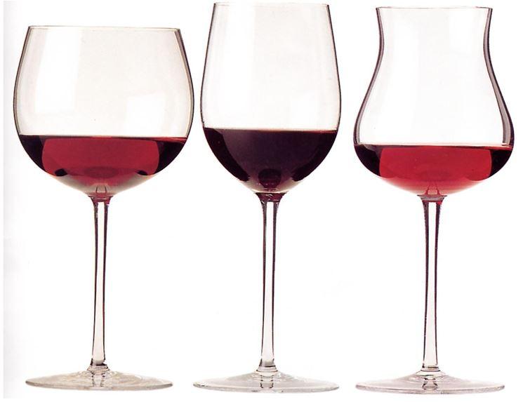 calici vino rosso
