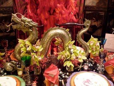 decorazioni cinesi drago