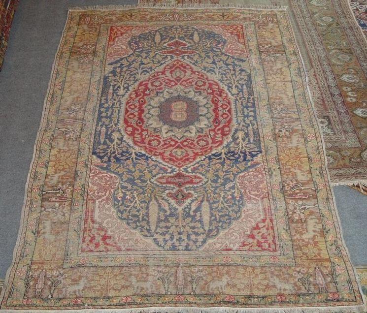 Esempio di tappeto usurato