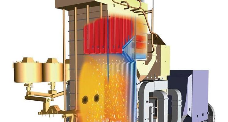 caldaia a biomassa