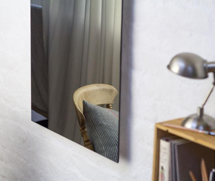 Pannello a infrarossi a forma di specchio
