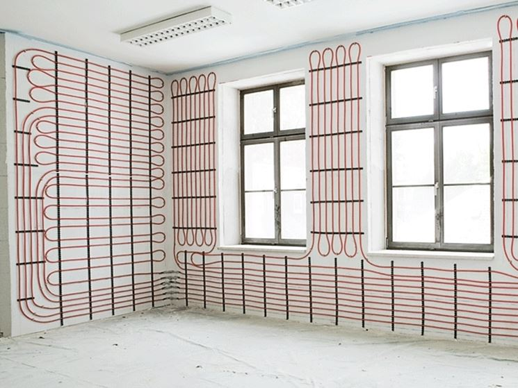 Riscaldamento a parete come riscaldare riscaldamento a parete vantaggi e svantaggi - Sistemi di riscaldamento casa ...