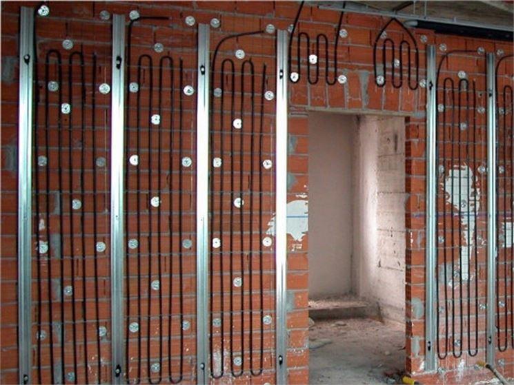Pannelli radianti per riscaldamento da parete