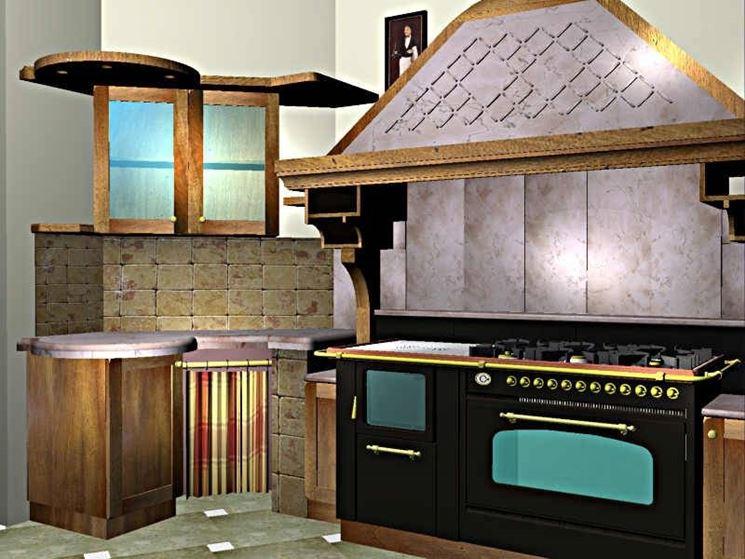 Cappe per cucine in muratura   componenti cucina   le principali ...