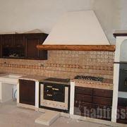 cappa per cucina in muratura