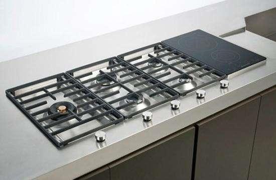 Caratteristiche dei piani cottura professionali for Mobili cucine a gas