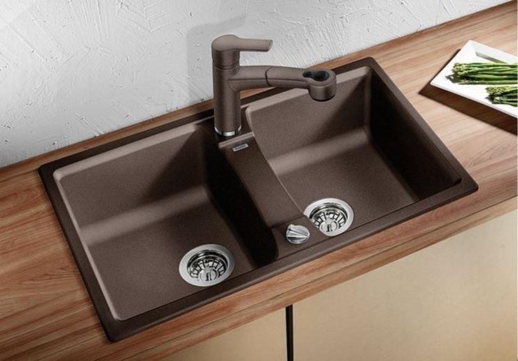 Dimensione dei lavelli ponenti cucina Misure lavelli