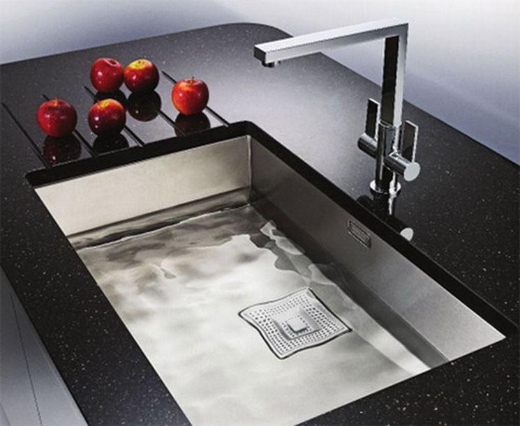Installare lavelli da incasso   componenti cucina   come ...