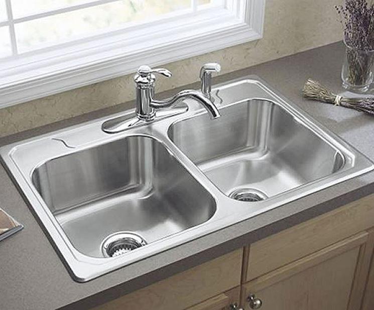Installare lavelli in acciaio - Componenti cucina - Lavelli in ...