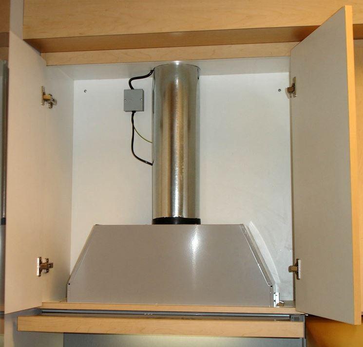 installare tubo cappa cucina - Componenti cucina - Tubo per cucina