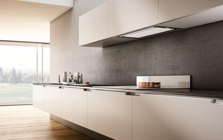 Modelli di cappe aspiranti cucina componenti cucina - Aspira odori cucina ...