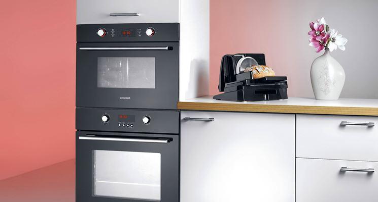 Modelli di forni da incasso componenti cucina - Mobile per lavastoviglie da incasso ...