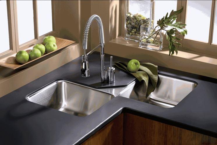 ... di lavabo ad angolo - Componenti cucina - Tipologie lavabi ad angolo