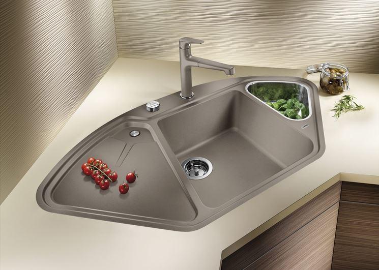 Modelli di lavabo ad angolo - Componenti cucina - Tipologie lavabi ...