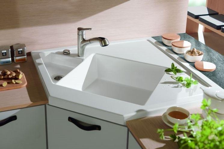 Modelli di lavabo ad angolo   componenti cucina   tipologie lavabi ...