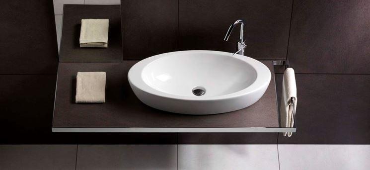 Modelli di lavabo da appoggio componenti cucina lavabo da appoggio - Scarico lavandino bagno ...