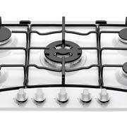 Modello piano cottura bianco cinque fuochi - Ariston