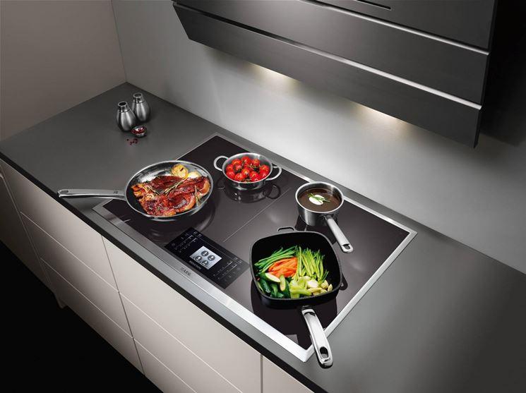 piano cottura induzione componenti cucina perch. Black Bedroom Furniture Sets. Home Design Ideas