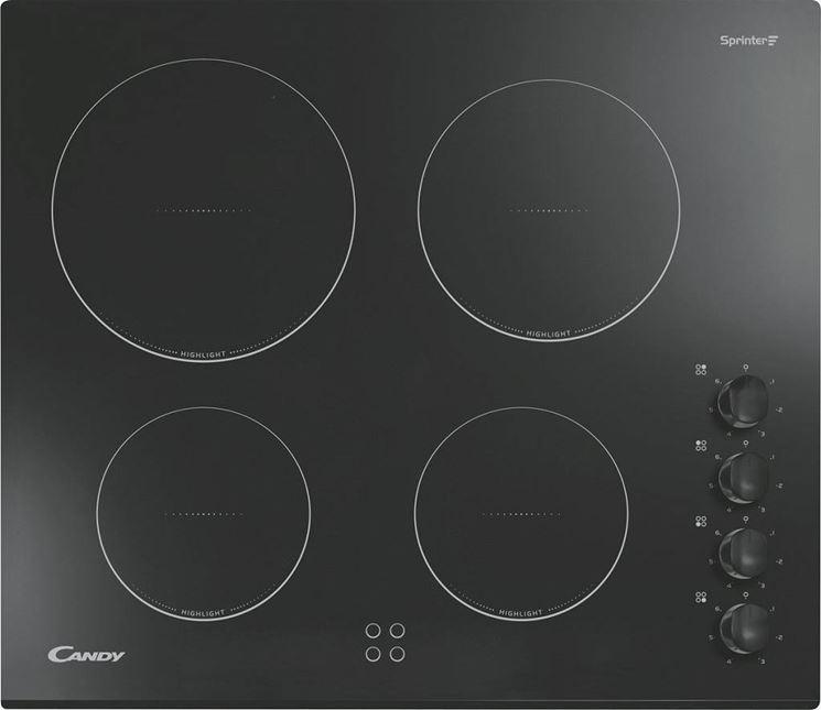 Vantaggi piani cottura in vetro componenti cucina for Piano cottura vetroceramica a gas